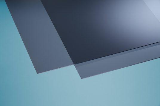 Acrylglas farbig grau