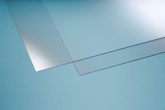 Polystyrolglas glatt 2,5 mm klar