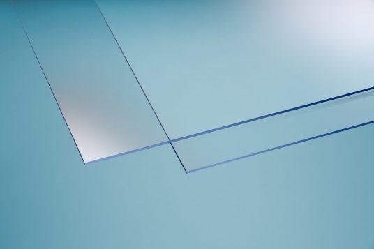 Polystyrolglas glatt 5 mm klar