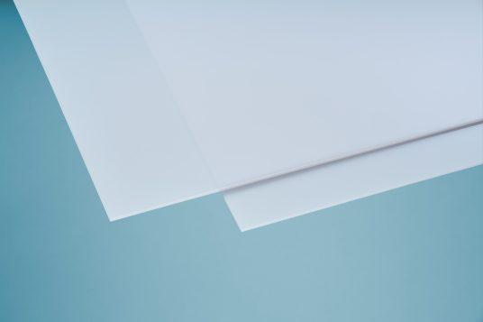 Polystyrolglas weiß opal 5 mm