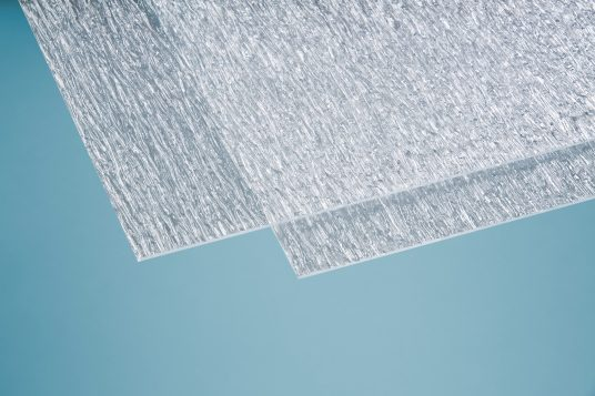 Polystyrolglas Rinde grob 5 mm klar