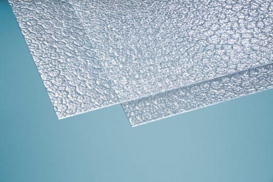 Polystyrolglas Wabe 5 mm klar