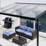 Terrassendach Premium Acryl klar