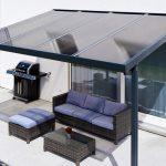 Terrassendach Premium Polycarbonat bronze
