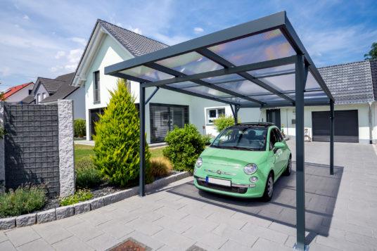 Carport Premium anthrazit